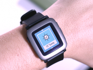 Smartwatch Pebble E-Paper